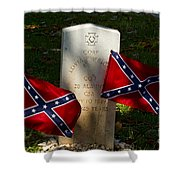 Confederate Grave   #2831 Shower Curtain