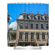 Charleston Confederate Home Shower Curtain
