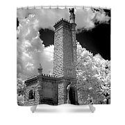 Confederate Resting Place Shower Curtain