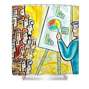 Conference Shower Curtain