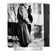 Confess The Round Shower Curtain