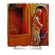 Confessional Halo Shower Curtain