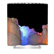 Confetti Colors Shower Curtain