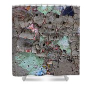 Confetti Graffiti Shower Curtain