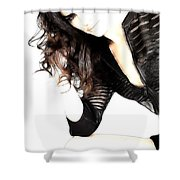 Confidence Shower Curtain