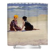 Confidences Shower Curtain