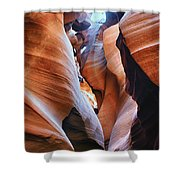 Confined Spaces Shower Curtain
