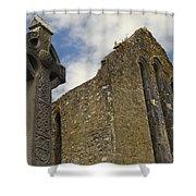 Cong Abbey, Ireland Shower Curtain