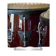 Congas Shower Curtain