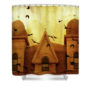 Congregation  Shower Curtain