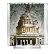 Congress-2 Shower Curtain