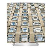 Congress Plaza Hotel Windows Shower Curtain