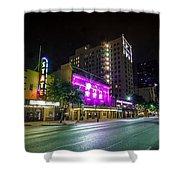 Congress Street In Downtown Austin Shower Curtain