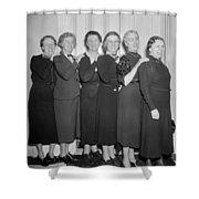 Congresswomen, 1938 Shower Curtain
