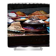 Conical Hats 01 Shower Curtain