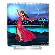 Conjunction Shower Curtain