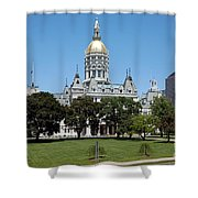 Connecticut State Capitol Hartford Shower Curtain