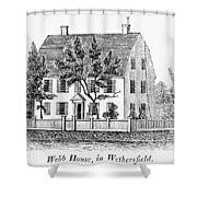 Connecticut Webb House Shower Curtain