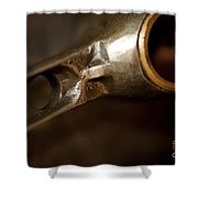 Connecting Rods Indian Scout Racer Shower Curtain