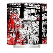 Connection 26 Shower Curtain