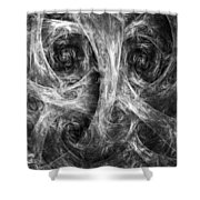 Conscience 02 Shower Curtain