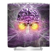 Consciousness 1 Shower Curtain