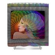 Consciousness Shower Curtain
