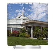 Conservatory At The Huntington Library Shower Curtain