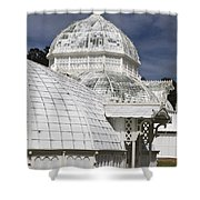 Conservatory Of Flowers Gate Park Shower Curtain
