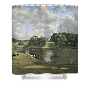 Constable's Wivenhoe Park In Essex Shower Curtain