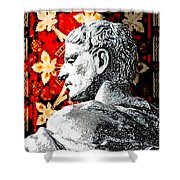Constantine The Great Shower Curtain
