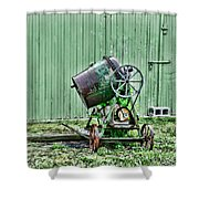 Construction - Cement Mixer Shower Curtain