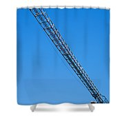 Construction Crane 01 Shower Curtain
