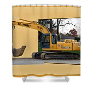Construction Equipment 01 Shower Curtain