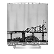 Construction Of The Eastern Span San Francisco Oakland Bay Bridge June 29 1930 Shower Curtain