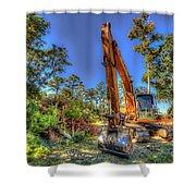 Construction Site Shower Curtain
