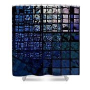 Constructions Shower Curtain