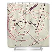 Constructivist Composition, 1922 Shower Curtain