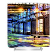 Containment Facility Shower Curtain