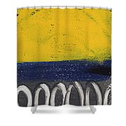 Contemplation Shower Curtain by Linda Woods