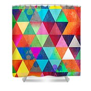 Contemporary 3 Shower Curtain by Mark Ashkenazi