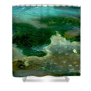 Continents Shower Curtain