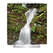 Continuous Drop Shower Curtain