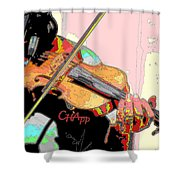 Contorno Fiddle II Shower Curtain