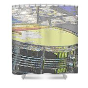 Contorno Snare Shower Curtain