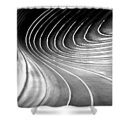 Contours 9 Shower Curtain