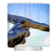 Contralto 19 Shower Curtain