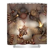 Controversy Shower Curtain by Casey Kotas