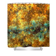 Contusion-01 Shower Curtain