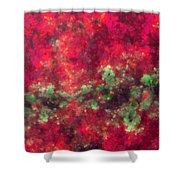 Contusion-03 Shower Curtain